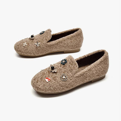 Women's autumn and winter new boat shoes loafers