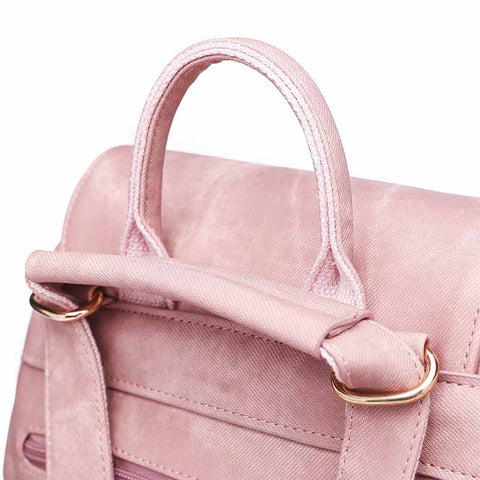2020 New European and American Fashion Trend PU Material Women's Tassel Backpack