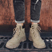2019 autumn new trend retro British style thickened warm tooling desert boots
