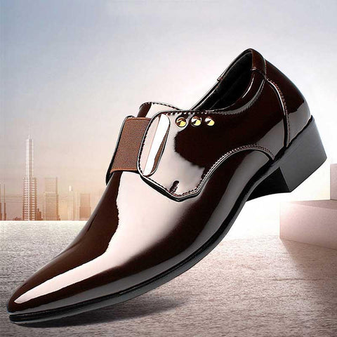 2019 autumn and winter new business casual men's leather shoes
