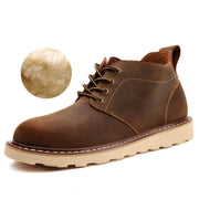 Plus velvet warm big head casual wild tooling tide shoes