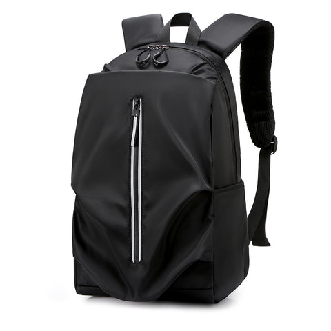 2020 New Soft Surface Pure Color Backpack Practical Travel Casual Bag