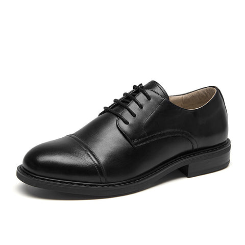 New England style single shoes Flat-bottomed oxford shoes retro leather thick bottom casual shoes