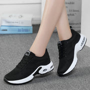 Spring new dense mesh flying woven women's shoes wild comfortable casual shoes women's large size sneakers