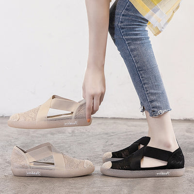 2020 summer women's new all-match sandals flat fisherman shoes