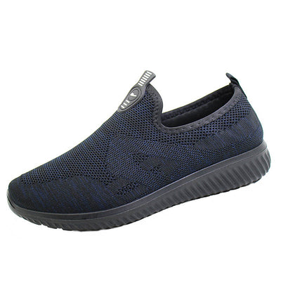 New women's shoes spring and autumn style net shoes one pedal wild breathable slip-on shoes soft bottom lazy shoes