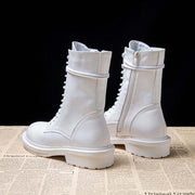 2019 autumn and winter new cotton boots England style wild 13 hole Martin boots