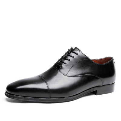 2020 new genuine Japanese business plus size men's leather shoes