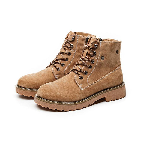 2019 autumn and winter new European and American retro Martin boots