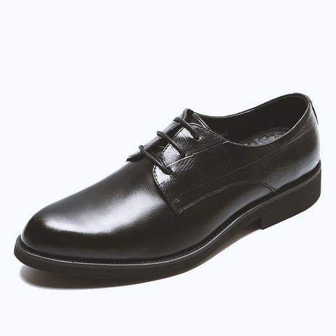 Business casual high breathable leather shoes