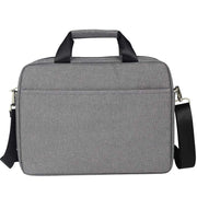 Pure color wild computer briefcase multifunctional men's handbag business notebook shoulder bag