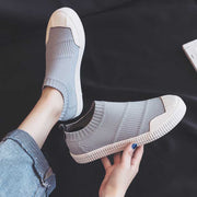 Solid color versatile basic casual shoes