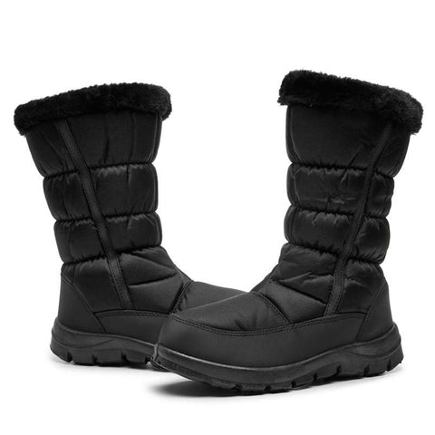 Winter snow boots plus cotton warm and comfortable non-slip women's cotton shoes