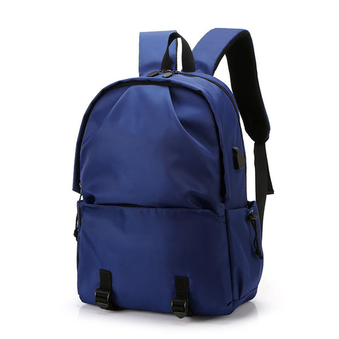 New men's backpack casual fashion backpack usb waterproof schoolbag trend sports outdoor bag