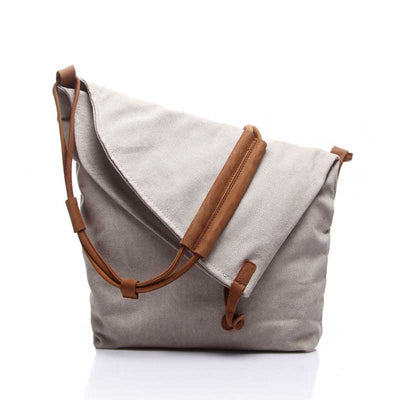 Vintage Men's Canvas Shoulder Crossbody Bag