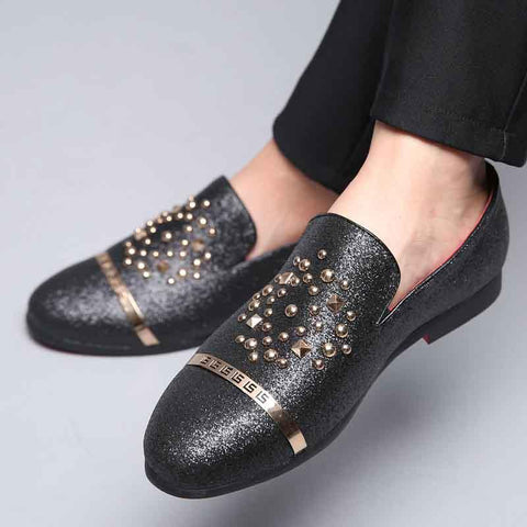 British fashion Liu Ding casual loafers