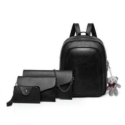 2020 new European and American fashion simple women's backpack