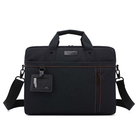 Men's Business Briefcase Waterproof Oxford 14 Inch Laptop Bag