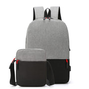 New Fashion Backpack Soft Surface Student School Bag Travel Computer Bag