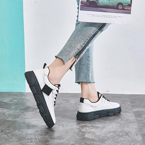 2020 spring and autumn models selling wild microfiber comfortable women's sneakers