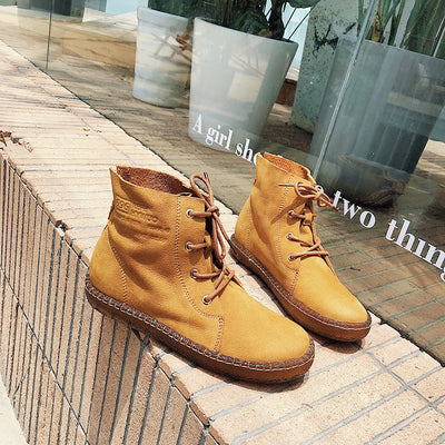 Booties women's Martin boots women's shoes British wind 2019 new locomotive autumn and winter Korean version of the high to help wild short boots