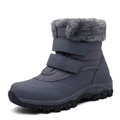 2019 winter new plus velvet large size snow boots cotton shoes