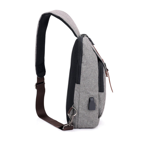 New Men's Chest Bag Tide Cool Messenger Bag Outdoor Travel Sports Shoulder Bag