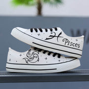 Personality hand-painted canvas tide shoes