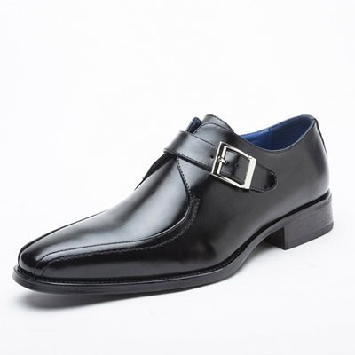 New business leather shoes dress leather shoes men's single shoes casual shoes