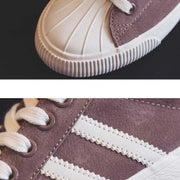 Leisure flat bottom Harajuku shell head canvas shoes