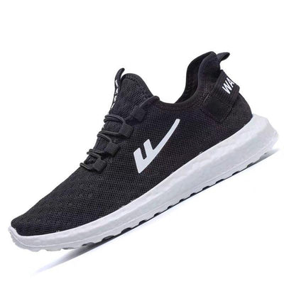 New hot sale comfortable non-slip thick soles mesh low-top fashion men's sneakers
