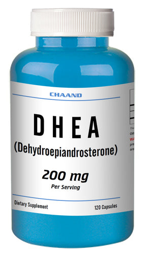 DHEA 200mg Serving High Potency Big Bottle 120 Capsules CH