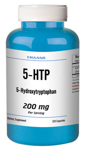 5-HTP 200mg Big Bottle 120 Capsules Weight Management Mood Serotonin Gluten FREE Chaand