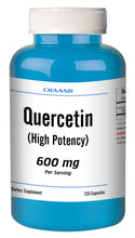 Load image into Gallery viewer, Quercetin 600mg Serving High Potency 120 Capsule GREAT DEAL CH