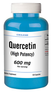 Quercetin 600mg Serving High Potency 120 Capsule GREAT DEAL CH