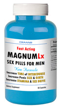 Load image into Gallery viewer, MAGNUM LX - BEST MALE ENHANCEMENT PENIS ENLARGEMENT SEX PILLS 60 Bottle
