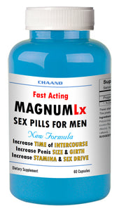 MAGNUM LX - BEST MALE ENHANCEMENT PENIS ENLARGEMENT SEX PILLS 60 Bottle