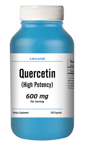 Quercetin 600mg Serving High Potency 200 Capsule GREAT DEAL CH