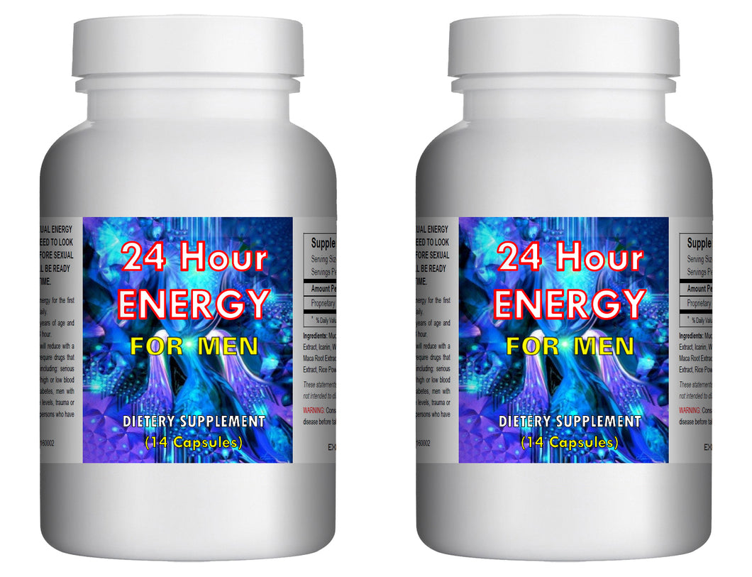 #1 24 Hour Strength Sex Enhancement Enhancer Men ED Erectile MALE SEX PILLS - 2x Bottles