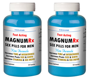 MAGNUM LX - BEST MALE ENHANCEMENT PENIS ENLARGEMENT SEX PILLS 240 Pills 2x Bottles