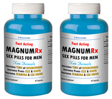 Load image into Gallery viewer, MAGNUM LX - BEST MALE ENHANCEMENT PENIS ENLARGEMENT SEX PILLS 120 Pills 2x Bottles