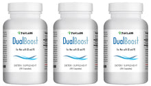 Load image into Gallery viewer, DUAL BOOST - SEX PILLS FOR MEN - SPECIAL DOUBLE FORMULA - NATURAL DIETARY SUPPLEMENT 90 Pills 3x Bottles