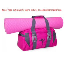 Load image into Gallery viewer, Yoga Fitness Bag Waterproof Nylon Training Shoulder Crossbody Sport Bag For Women Fitness Travel Duffel Clothes Gym Bags