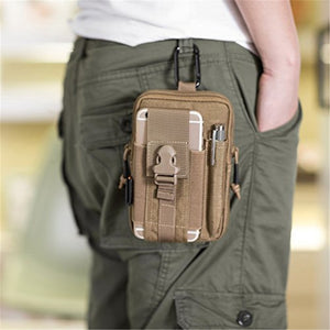 Tactical Molle Pouch Belt Waist Pack Bag Military Waist Fanny Pack Utility EDC Gear Bag