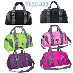 Yoga Fitness Bag Waterproof Nylon Training Shoulder Crossbody Sport Bag For Women Fitness Travel Duffel Clothes Gym Bags