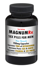 Load image into Gallery viewer, MAGNUM RX Male Enhancement Pills Sex STRONG MEN STAMINA SIZE 10x PILLS