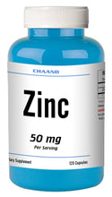 Load image into Gallery viewer, Zinc Citrate 50mg 120 Days Supply MAX BOOST IMMUNITY Capsules High Potency CHAND