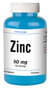 Zinc Citrate 50mg 120 Days Supply MAX BOOST IMMUNITY Capsules High Potency CHAND