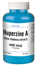 Load image into Gallery viewer, Huperzine A Capsules Enhances Memory 400mcg HIGH POTENCY 120 Capsules Big Bottle