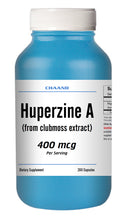 Load image into Gallery viewer, Huperzine A Capsules Enhances Memory 400mcg HIGH POTENCY 200 Capsules Big Bottle